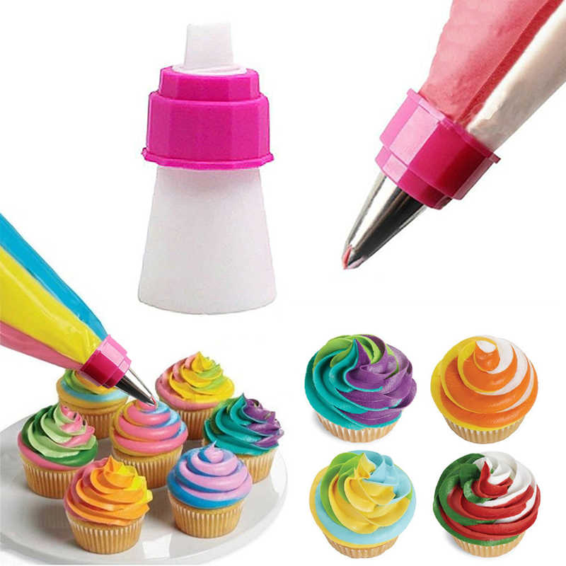 1Pc Nozzles for Confectionery Bag Cake Icing Decorating Tools Confectionery Nozzles Cream Nozzles Reusable Pastry Bag