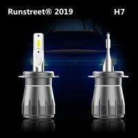 Runstreet Projector Lens Headlight LED H1 H4 H7 H11 9005 HB3 9006 HB4 9012 HIR2 D2S 6000K Car Headlight Fog Light Bulb Lamp IP68