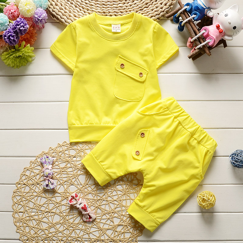 New-2017-Summer-Baby-Boys-Girls-Clothes-Sets-Casual-Style-Infant-Cotton-Suits-Sports-T-ShirtPants-2-Piece-Kids-Children-Suits-1