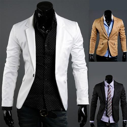 ¡ Promoción! 2016men ropa chaqueta traje de vestir