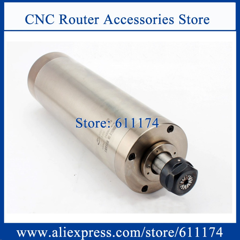 High Quality 2.2KW AC220V 24000rpm Spindle for CNC router machine