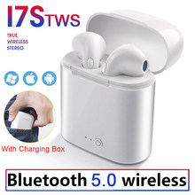i7s Tws Wireless Bluetooth Earphone Stereo In-ear Headphones Mini Headset Mic Earphones for iPhone XiaoMi Phone Original i10 i12(China)