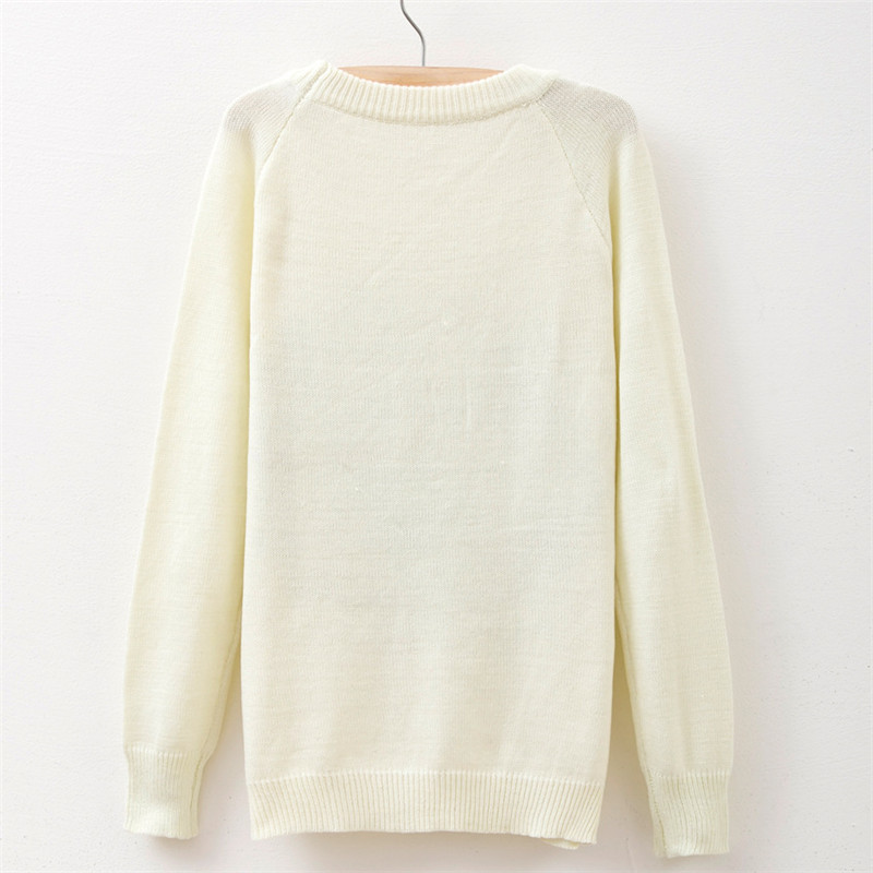 New Arrival women sweaters Ice cream Printed fashion Round neck ...