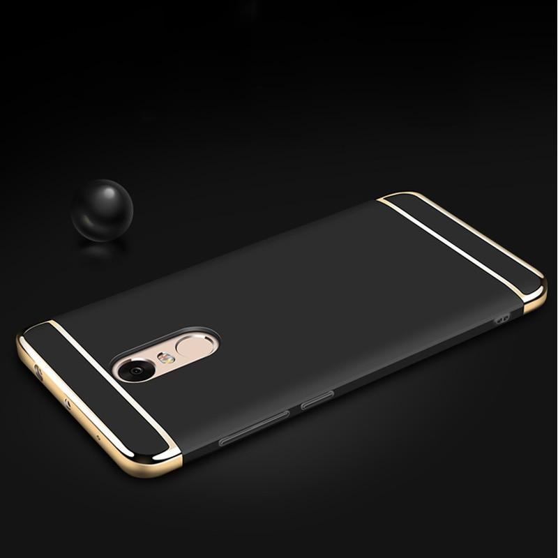 Xiaomi Redmi Note 4X Case 3 in 1 Luxury Ultra Thin Coque - Բջջային հեռախոսի պարագաներ և պահեստամասեր - Լուսանկար 6