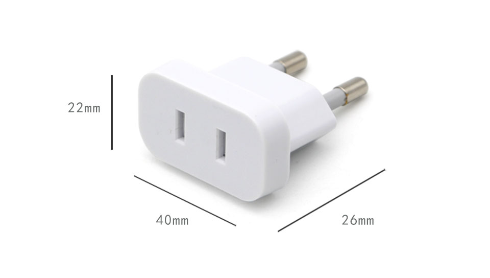1PC US To EU Plug USA To Europe Travel Wall AC Power Plug Safety Door Design Charger Outlet Adapter Converter 2 Round Pin Socket (9)