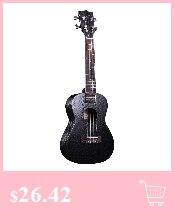 Asson ukulele sapele concerto ukulele guitarra 4