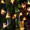 Bee String Lights 20 50 Led Outdoor Solar Power LEDs Strings Waterproof Garden Patio Fence Gazebo Summer Night Light Decorations discount