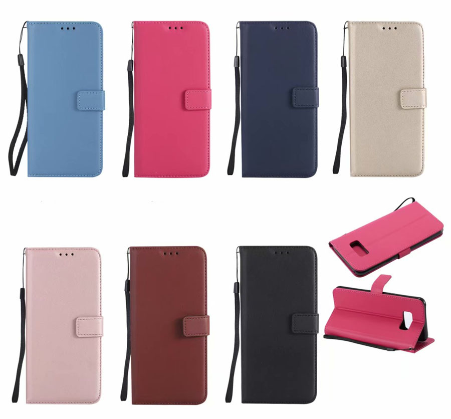 For A3 A5 A7 J3 J5 J7 2016 2017 Case Leather Flip Wallet Cover For Samsung Galaxy S8 Plus S6 S7 Edge S5 S4 S3 Grand Prime Coque