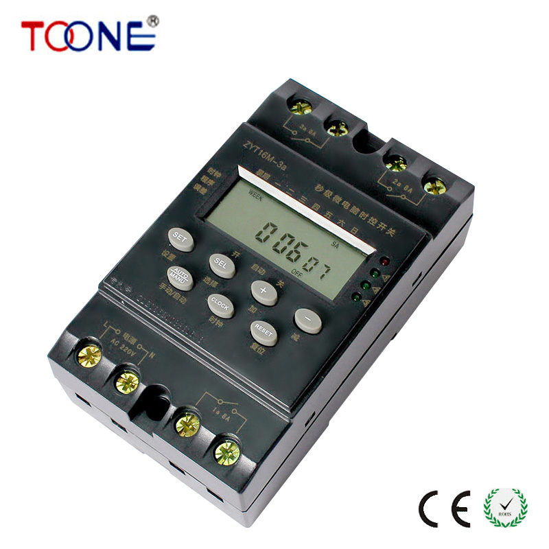 ZYT16M-3a Three Circuit 80 Seconds Time Control Switch Timer Switch Timer Can Be Set Seconds посуда для выпечки three can 3