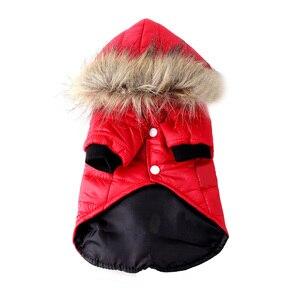Image 4 - Pawstrip XS XL ciepłe małe ubrania dla psa zimowy płaszcz dla psa kurtka stroje dla szczeniąt dla Chihuahua Yorkie pies zimowe ubrania ubrania dla zwierząt