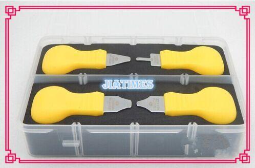 4X Luxary Snap-on Задняя крышка Открывалка Рамка Remover Смотреть ПРАЙ Тип Трения ПАЛИТЬ Смотреть Дело Открывалка Нож набор