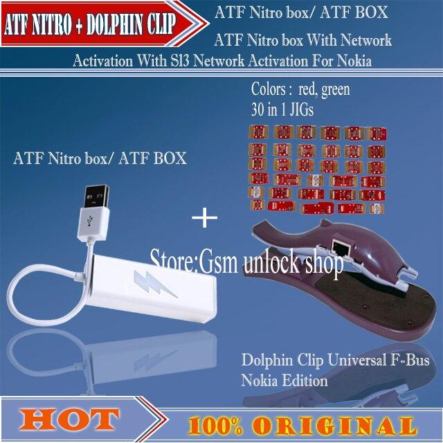 ATF Nitro box  + Dolphin Clip Universal F-Bus for Nokia Edition (30 in 1 JIGs)
