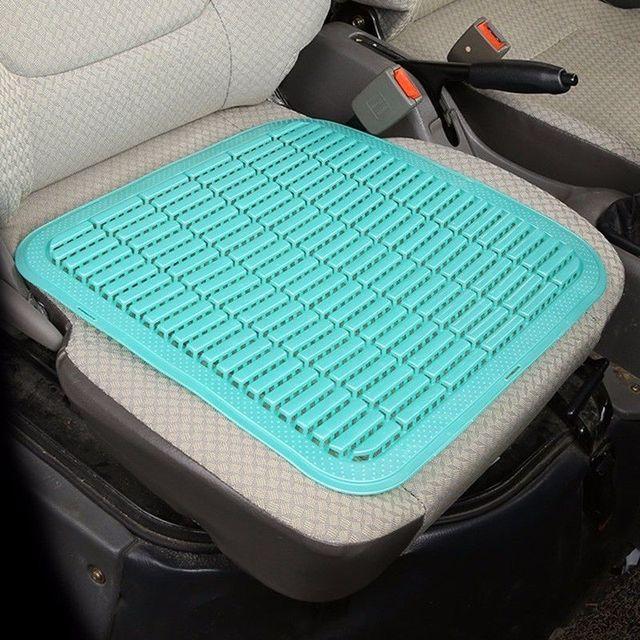 Summer Plastic Breathable Cool Car Seat Cushion Auto Home Chair Cover