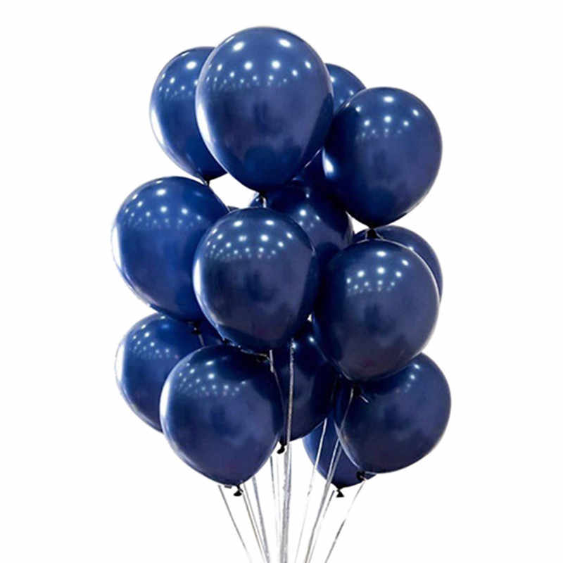 "40pcs Navy Blue Balloons Mini 5inch Mid-Night Blue Latex Balloons 10"" 12"" 18"" for Bachelorette Party Birthday Baby Shower Decor"