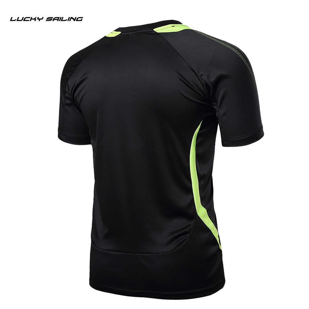 2019 男性ランニング Tシャツメンズサッカーユニフォーム Survetement フットボール速乾性卓球バドミントンスポーツ Tシャツトップス