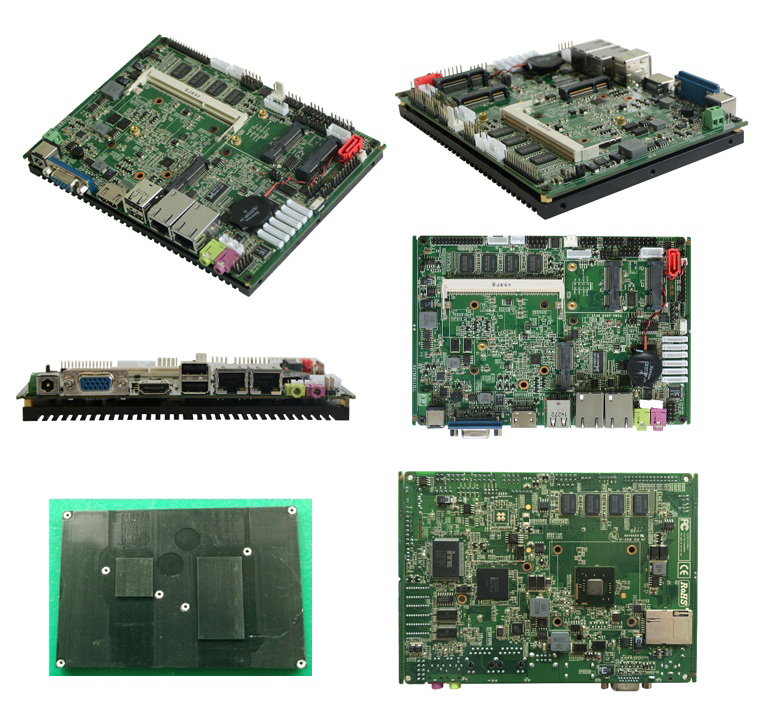 Mini atx motherboard with Onboard 2G RAM with low power consumption (PCM3-N2800)