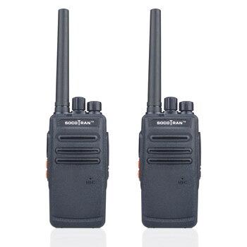 SOCOTRAN SC-308 2pieces/Lot ham Walkie Talkie UHF 400-470MHZ 3W Telsiz Busy Lock Radio Communicador Amador Scrambler 16CH