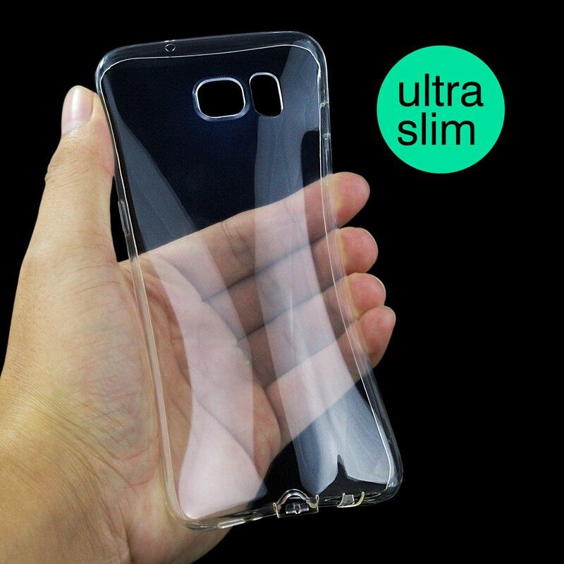 Jderv Мягкий силиконовый чехол для <font><b>Samsung</b></font> Galaxy <font><b>S7</b></font>/<font><b>S7</b></font> края прозрачной силиконовой телефон сумка чехол для <font><b>Samsung</b></font> <font><b>S7</b></font> край чехол с вилкой пыли