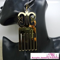 New New New Arrival Party Girls Earring Big Comb Acrylic Earring