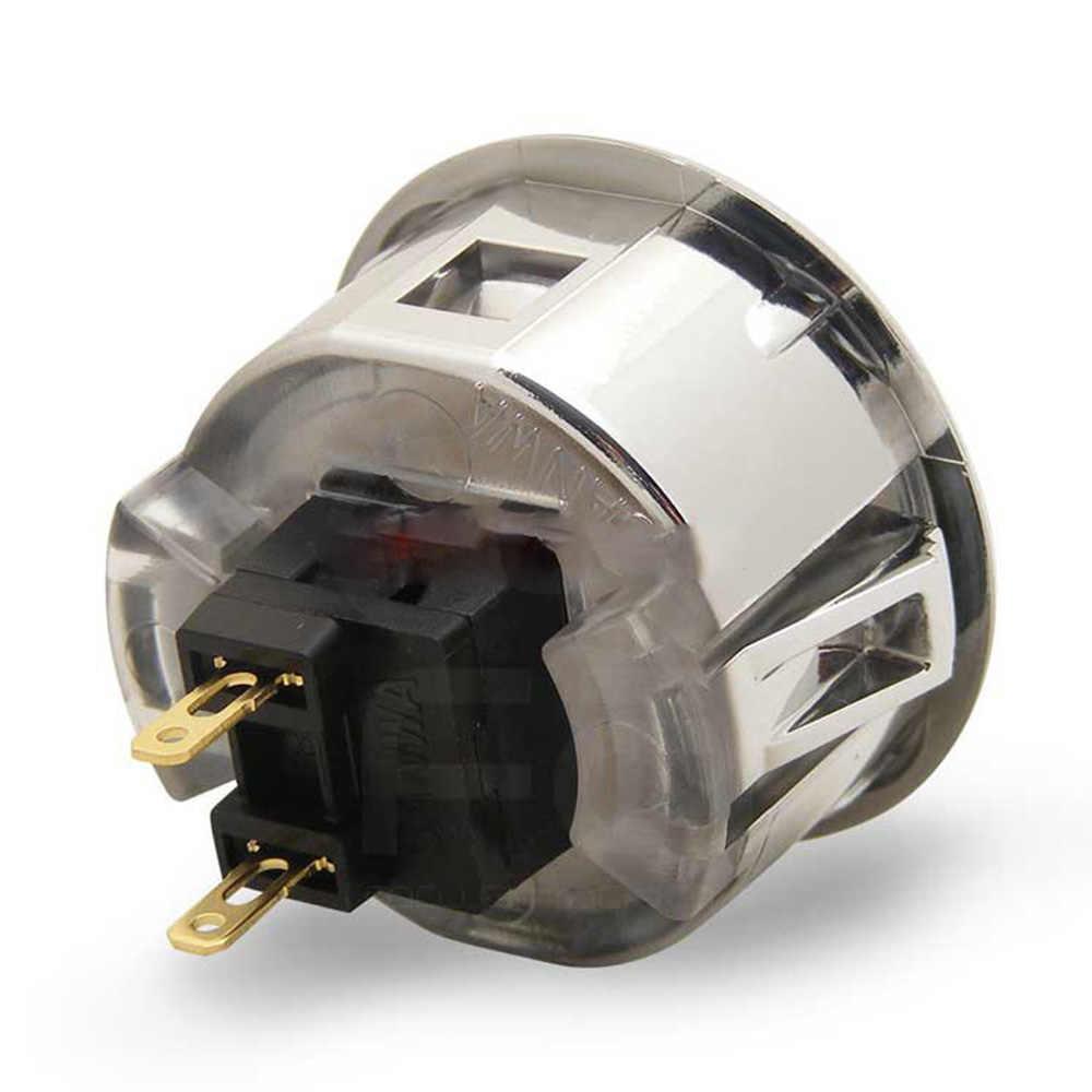 8 ピース/ロット三和 OBSF-30/24 ゴールド/シルバー/黒曜石ボタン Usb MAME コントローラ、アーケードジョイスティックゲームコンソール
