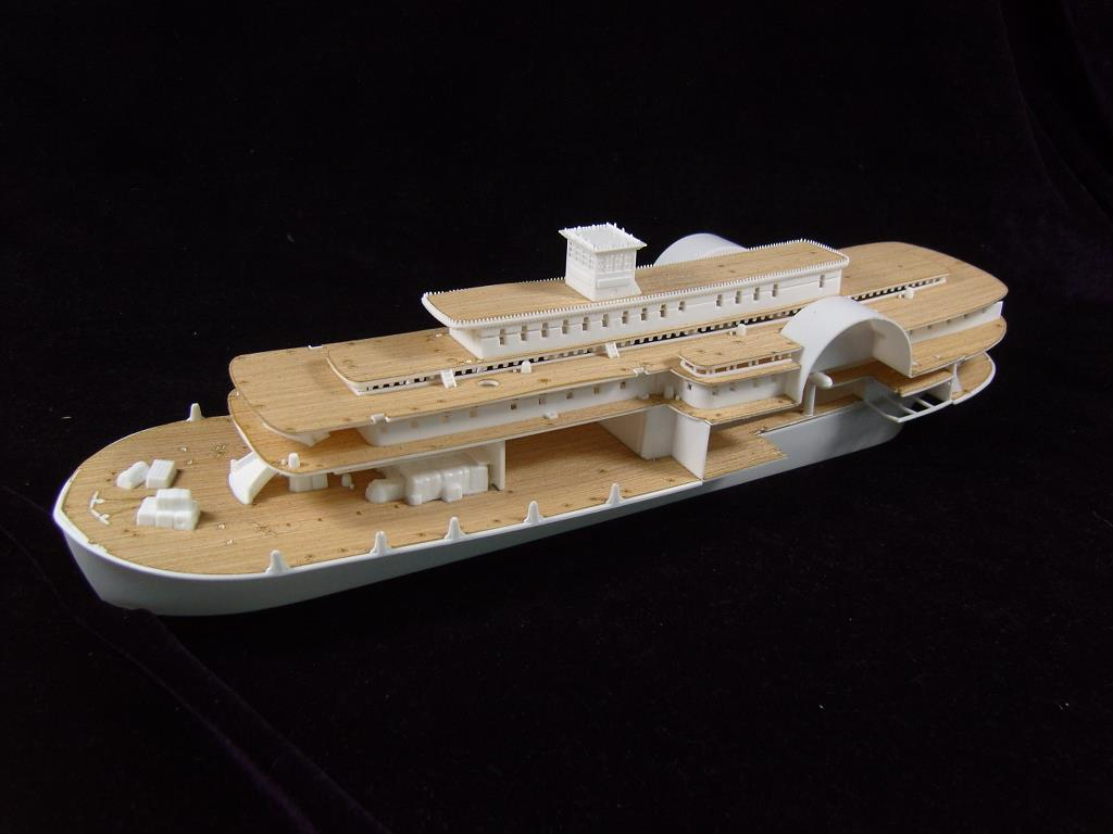 ARTWOX 85-0328's Mississippi paddle steam passenger ship wooden deck AW50001 trumpeter artwox 05325 warspite hms 1942 deck aw10074 wooden