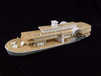 ARTWOX 85-0328's Mississippi paddle steam passenger ship wooden deck AW50001