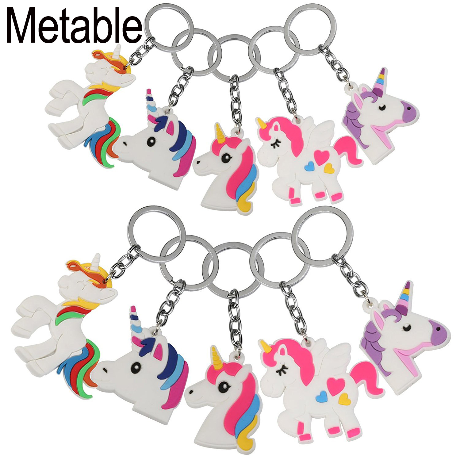 Home & Garden 10pcs/lot Unicorn Party Favor Keychain Pack Goody Bag Toys Perfect Of Theme Birthday Party Christmas Novelty Gift 5 Motiv Utmost In Convenience Event & Party
