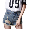 2017 New Jeans Women Ripped Women Short Hole Jeans Shorts Casual Sexy Ripped Jeans Big Hole Denim Shorts Size XS-5XL SH0682