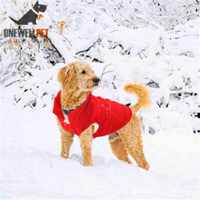 Купить с кэшбэком Warm Dog Clothes For Small Dog Windproof Winter Pet Dog Coat Jacket Padded Clothes Puppy Outfit Vest Yorkie Chihuahua Clothes 39