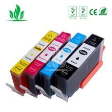 купить 4 pcs 364XL Ink Cartridges Compatible for HP364 364XL Photosmart Wireless B109a B109d B109f B109n Plus B209a B209c B210a Printer по цене 822.61 рублей