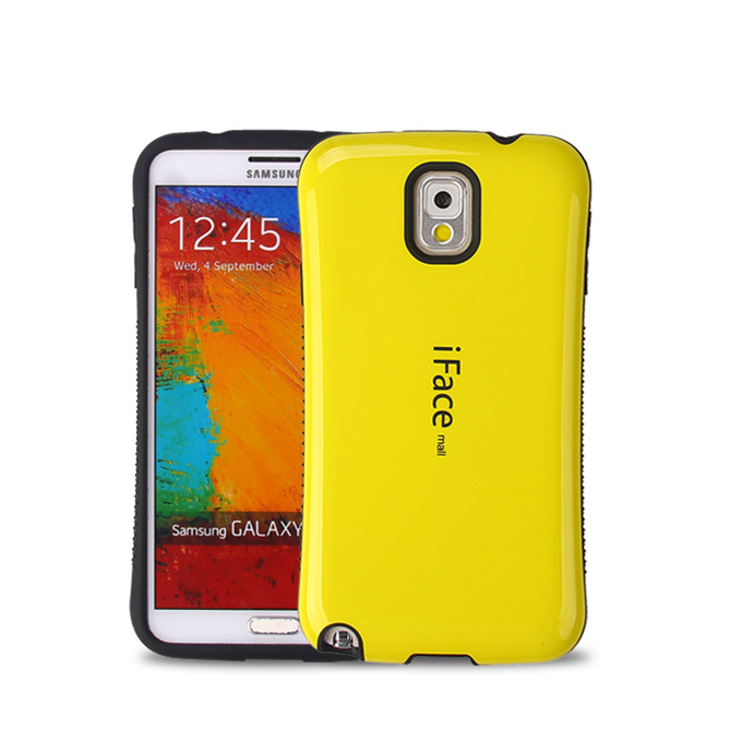Hot Candy color iFace Case Cover Samsung Galaxy Note 3 iFacemall Fashion Mobile Phone N9000 - Ebayshop Electronic Co., Ltd store