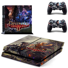Divinity Original Sin 2 PS4 Skin Sticker Decal Vinyl for Sony Playstation 4 Console and 2 Controllers PS4 Skin Sticker