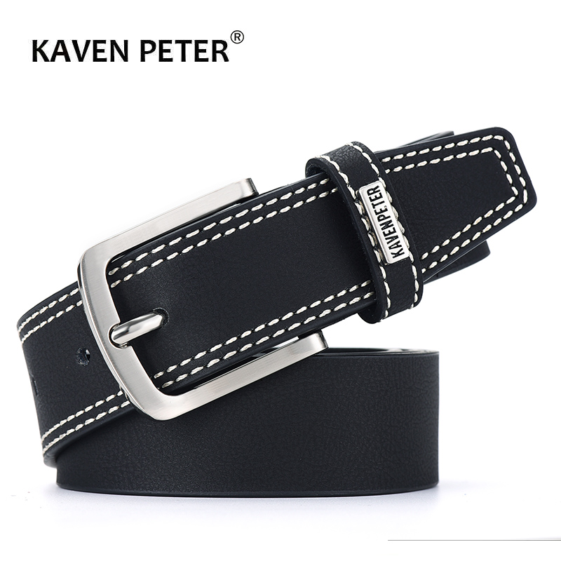 Men Genuine Leather Belt Luxury Designer Belts Cowskin Fashion Matt Strap Male Jeans For Man High Quality Cinturones Hombre Lujo