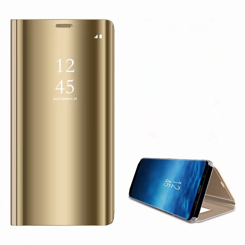 Высокое качество зеркало Clear View Cover для XiaoMi 5C 5X Xiaomi 6 Redmi 4X 5 плюс Smart Touch флип чехол для Redmi Note 3 4X 5A премьер ...