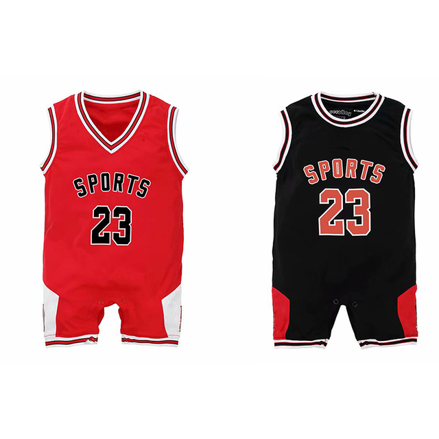 Culbutomind 2019 summer Baby romper Basketball Boys Girls sport Cotton Short Sleve Baby Clothing 0-12M