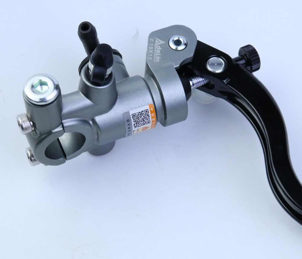 Universel 16mm 17.5mm 19mm Adelin PX1 moto frein pompe d'embrayage maître-cylindre levier poignée pour Yamaha Kawasaki Suzuki