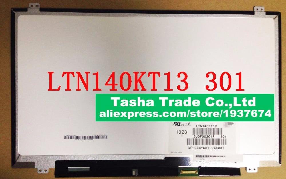 LTN140KT13-301 Matte 14 1600*900 HD+ eDP 30 pin LED Display Laptop LCD Screen n133bge lb1 13 3 inch laptop lcd screen 1366x768 hd edp 30pin n133bge lb1 n133bge lb1