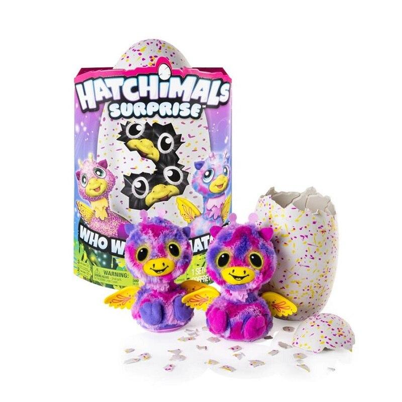все цены на Hatchimals Magic Eggs Incubate Twins Egg Trolltech Intelligent Early childhood Puzzle Plush Toys