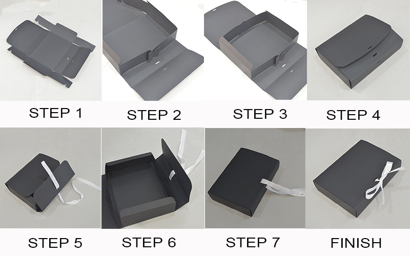 how to fold the box