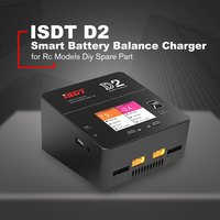 ISDT D2 200W 24A LiFe/Lilon/LiPo/LiHv/NiMH/Cd Battery Balance Charger Intelligent Digital Charger For Rc Models Diy Spare Part