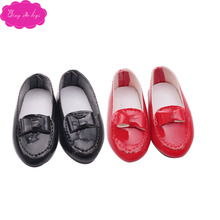 Doll shoes fashion pointed shoes 2 color dress shoes fit 16 inch Girl dolls and 14.5-inch Girl doll accessories r23 недорго, оригинальная цена