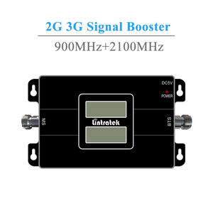 Image 3 - Lintratek NEW Dual LCD Displays 3G GSM Cellular Signal Repeater 900MHz UMTS 2100MHz 2G 3G Dual Band Cell Phone Signal Booster