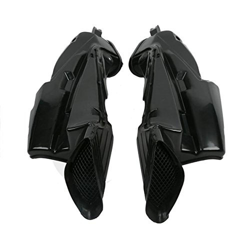 Motorcycle Ram Air Intake Tube Duct Pipe For Suzuki GSXR 600 750 GSXR600 GSXR750 2006-2007 High quality ABS Plastic Motorbike new motorcycle ram air intake tube duct for suzuki hayabusa gsxr1300 1997 2007 abs plastic black high quality