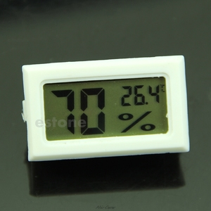 Hygrometer Thermometer Digital LCD Temperature Humidity Meter 10%~99%RH