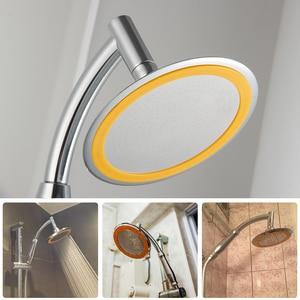 Image 2 - EVERSO luksusowe deszczownica głowy 6 Cal Handheld zestaw anionów pod wysokim ciśnieniem łazienka opady deszczu gadżety oszczędzania wody Showerhead