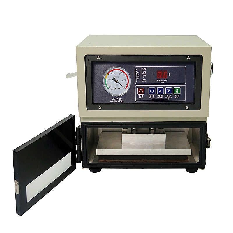 LY 818 8 дюймов цифровой авто lcd Регулируемая по высоте OCA Пленка для ламинирования машина для мобильного телефона
