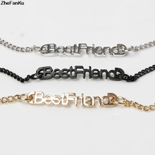 Women Bracelet Bangle Best Friends The English Letter Spelling Forever China