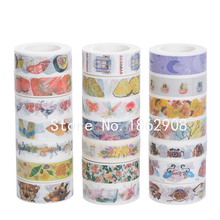 Custom strong adhesive colorful washy tape deco paper tape design I