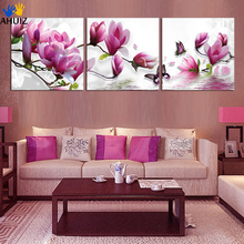 The frameless Pictures Painting On Canvas Unique Gifts Home Decoration printed painting 3 panels H066