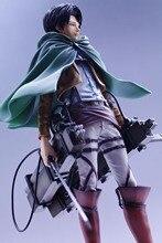 Original Banpresto Attack on Titan Figure Master Stars Piece ( MSP ) Attack on Titan Levi (10″) + 3D Maneuver Gear